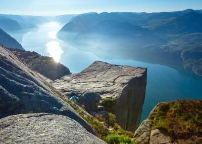 Lysefjord pulpit rock cruise topp