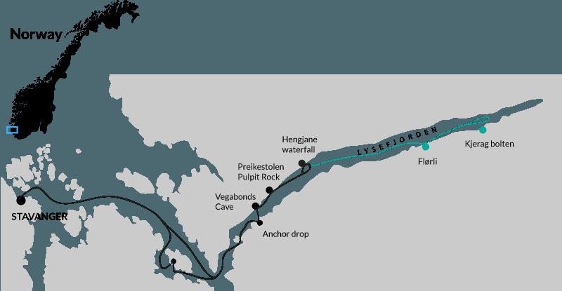 Lysefjorden trip