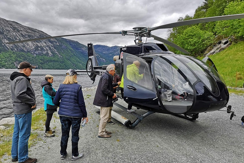 helicopter tour combined