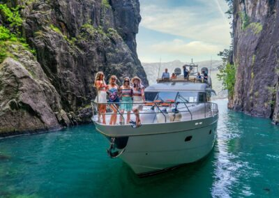 Barolo III in the Vagabond Cave in Lysefjord for Private Cruise
