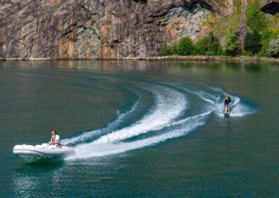 Wakeboarding with Private Cruise