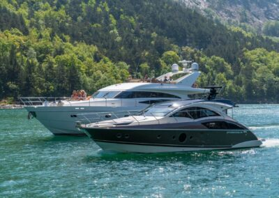 Barolo III and Marquis Yacht in Lysefjord for Private Cruise