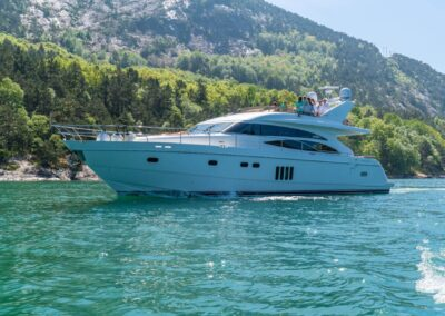 Barolo Yacht in Lysefjord for Private Cruise