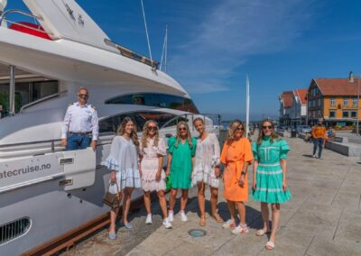 Getting ready for adventure on Barolo Yacht with Private Cruise
