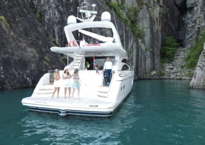 Barolo III yacht for Private Cruise in Vagabond Cave